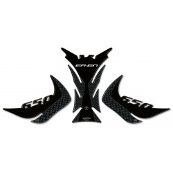 3D STICKERS SIDE GUARDS AND TANK FOR KAWASAKI ER-6N 2012/2016