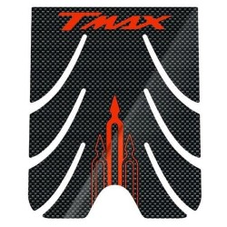 3D STICKER PROTECTIONS FOOTBOARD FOR YAMAHA T-MAX 500 2001/2007 CARBON/RED