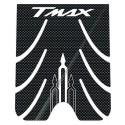 ADESIVI 3D PROTEZIONI PEDANA PER YAMAHA T-MAX 500 2001/2007 CARBON/BIANCO
