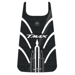 3D STICKER TANK DOOR PROTECTION FOR YAMAHA T-MAX 500 2001/2007 WHITE CARBON