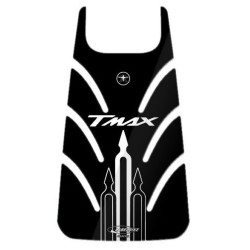 3D STICKER TANK DOOR PROTECTION FOR YAMAHA T-MAX 500 2001/2007 BLACK WHITE