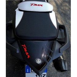 3D STICK PROTECTION TAIL FOR YAMAHA T-MAX 530 2012/2016 BLACK RED LOGO