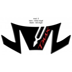 3D STICK PROTECTION TAIL FOR YAMAHA T-MAX 530 2017/2019 BLACK RED LOGO