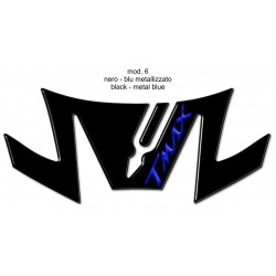 3D STICK PROTECTION TAIL FOR YAMAHA T-MAX 530 2017/2019 BLACK BLUE LOGO