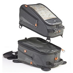 DOUBLE TANK BAG KAPPA AH201 CAPACITY 20/40 LITERS