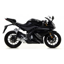ARROW THUNDER CATALYTIC EXHAUST SYSTEM IN ALUMINUM WITH CARBON CUP FOR YAMAHA YZF-R 125 2017/2018*