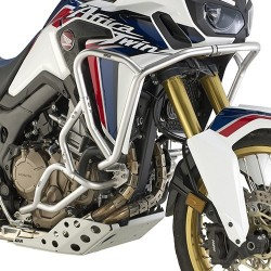 GIVI RADIATOR PROTECTION FOR HONDA AFRICA TWIN 1000 2016/2019 IN STAINLESS STEEL