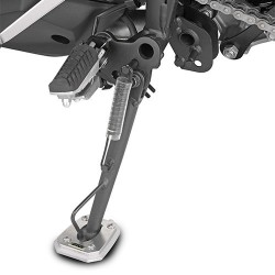 GIVI ALUMINUM BASE WITH INCREASED SURFACE AREA FOR ORIGINAL STAND KAWASAKI VERSYS-X 300 2017/2020