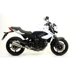 ARROW X-KONE COMPLETE CATALYTIC EXHAUST SYSTEM IN STEEL CARBON CUP FOR YAMAHA XJ6 2009/2016, APPROVED