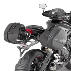 GIVI FRAME SPECIFIC TO FIX PAIR OF SIDE BAGS ST604 FOR TRIUMPH STREET TRIPLE 765 R/S 2017/2020