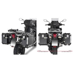 GIVI L6408CAM FRAME FOR MONOKEY CAM-SIDE SIDE CASES FOR TRIUMPH TIGER EXPLORER 1200 2012/2015