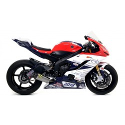 ARROW COMPETITION EVO WORKS FULL TITANIUM EXHAUST SYSTEM FOR YAMAHA R6 2017/2019