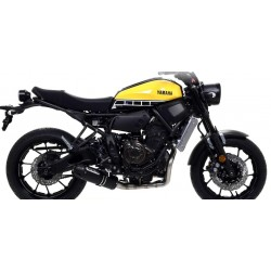 COMPLETE EXHAUST SYSTEM CATALYTIC ARROW TERMINAL JET RACE STEEL DARK CARBON CUP FOR YAMAHA XSR 700 2016/2020