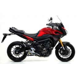 ARROW COMPLETE CATALYTIC EXHAUST SYSTEM X-KONE STEEL TERMINAL CARBON CUP FOR YAMAHA TRACER 900 2015/2020