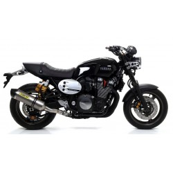 CARBON-ARROW RACE-TECH CARBON-BACK EXHAUST TERMINAL FOR YAMAHA XJR 1300 2015/2018, APPROVED