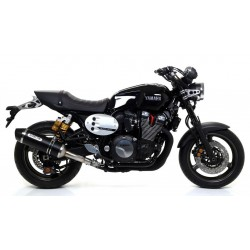CARBON ARROW RACE-TECH DARK CARBON BACK EXHAUST TERMINAL FOR YAMAHA XJR 1300 2015/2018, APPROVED