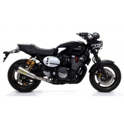 ARROW X-KONE CATALYTIC EXHAUST TERMINAL IN STEEL CARBON BASE FOR YAMAHA XJR 1300 2015/2018, APPROVED
