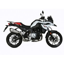 MIVV DELTA RACE EXHAUST TERMINAL STAINLESS STEEL FOR BMW F 750 GS 2018/2020, APPROVED