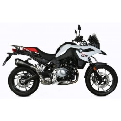 MIVV DELTA RACE BLACK EXHAUST TERMINAL FOR BMW F 750 GS 2018/2020, APPROVED