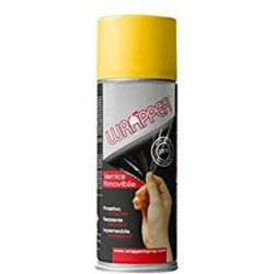 REMOVABLE SPRAY WRAPPER SPRAY COLOR TRAFFIC YELLOW