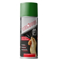 CAN REMOVABLE PEPPER GREEN SPRAY WRAPPER