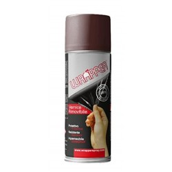 CHOCOLATE BROWN REMOVABLE SPRAY WRAPPER CAN