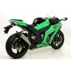 ARROW PRO RACING EXHAUST TERMINAL IN STEEL CARBON BASE FOR KAWASAKI ZX-10R 2011/2015, APPROVED