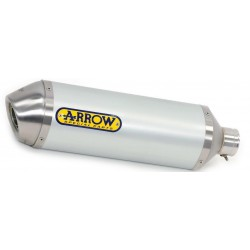 ARROW RACE-TECH ALUMINUM EXHAUST TERMINAL WITH STEEL LINING FOR KAWASAKI ZX-6R 636 2019/2020, APPROVED