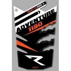 ADESIVO 3D PROTEZIONE SERBATOIO PER KTM 1190 ADVENTURE R