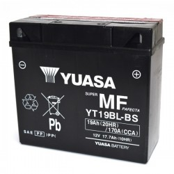 BATTERY YUASA YT19BL-BS WITHOUT MAINTENANCE WITH ACID TO KIT FOR BMW R 1150 RT 2001/2005