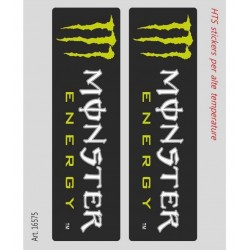 PAIR OF MONSTER STICKERS FOR HIGH TEMPERATURES