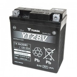 SEALED BATTERY PRELOADED YUASA YTZ8-V FOR HONDA CB 500 X 2019/2020