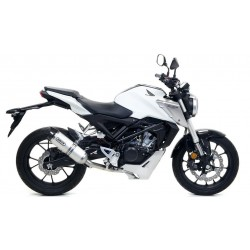 COMPLETE CATALYTIC EXHAUST SYSTEM ARROW ALUMINUM THUNDER FOR HONDA CB 125 R 2018/2020, APPROVED