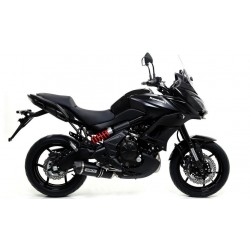 ARROW RACE-TECH CATALYTIC EXHAUST SYSTEM IN DARK ALUMINUM CARBON CUP FOR KAWASAKI VERSYS 650 2017/2020*