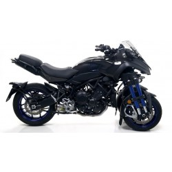 ARROW THUNDER COMPLETE CATALYTIC EXHAUST SYSTEM IN TITANIUM WITH STAINLESS STEEL BASE FOR YAMAHA NIKEN 900 2019