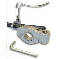 HANDLEBAR ATTACHMENT FOR REAR-VIEW MIRRORS WITH M10x1.25 ATTACHMENT