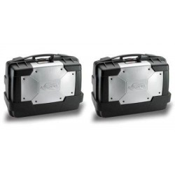 PAIR OF SIDE CASES KAPPA MONOKEY GARDA 33 CAPACITY 33 LITERS