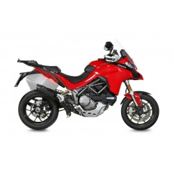 EXHAUST MIVV SOUND IN BLACK STEEL WITH DECATALIZER FITTING FOR DUCATI MULTISTRADA 1260 2018/2020