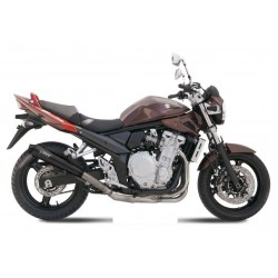 EXHAUST TERMINAL MIVV X-CONE BLACK FOR SUZUKI BANDIT 650/S 2007/2010, APPROVED