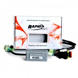 RAPID BIKE EASY 2 CONTROL UNIT WITH WIRING FOR MOTO GUZZI V7 III 2017/2020
