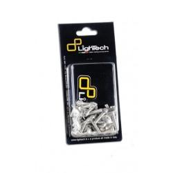 ERGAL LIGHTECH SCREWS KIT FOR FAIRING SUZUKI GSX-R 750 2008/2010