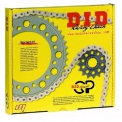 KIT TRASMISSIONE RACING KIT GP DID A124-14/41 PER DUCATI MONSTER S2R 1000 2006/2008, S2R 800 2005/2007