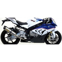 COMPLETE CATALYTIC EXHAUST ARROW RACE-TECH IN TITANIUM WITH CARBON BACK FOR BMW S 1000 RR 2015/2016, APPROVED