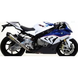 COMPLETE CATALYTIC DISCHARGE ARROW STEEL X-KONE WITH CARBON BACK FOR BMW S 1000 RR 2015/2016, APPROVED