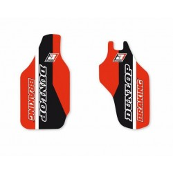 PAIR OF BLACKBIRD FORK STICKERS FOR HONDA CRF 450 R 2009/2018, CRF 250 R 2009/2018