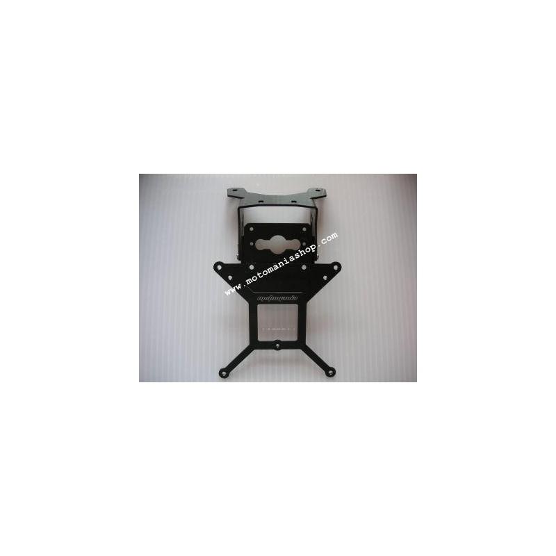 ADJUSTABLE ALUMINUM LICENSE PLATE SUPPORT FOR SUZUKI GSX-R 1000 2003/2004