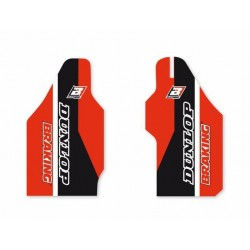 PAIR OF BLACKBIRD FORK STICKERS FOR HONDA CRF 450 R 2002/2003, CR 125 R 2000/2003, CR 250 R 2002/2003