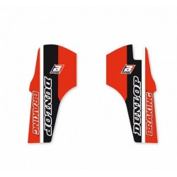PAIR OF BLACKBIRD FORK STICKERS FOR HONDA CRF 450 R 2019, CRF 250 R 2019