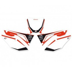 BLACKBIRD GRAPHIC NUMBER STICKER KIT FOR HONDA CRF 450 R 2017/2019, CRF 250 R 2018/2019