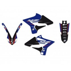 KIT ADESIVI BLACKBIRD GRAFICA DREAM 4 PER YAMAHA YZ 125/250 2015/2019